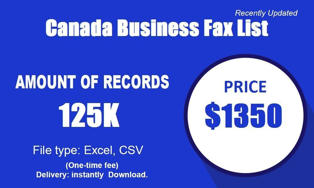 Canadabusinessfaxlist reach out to other businesses with