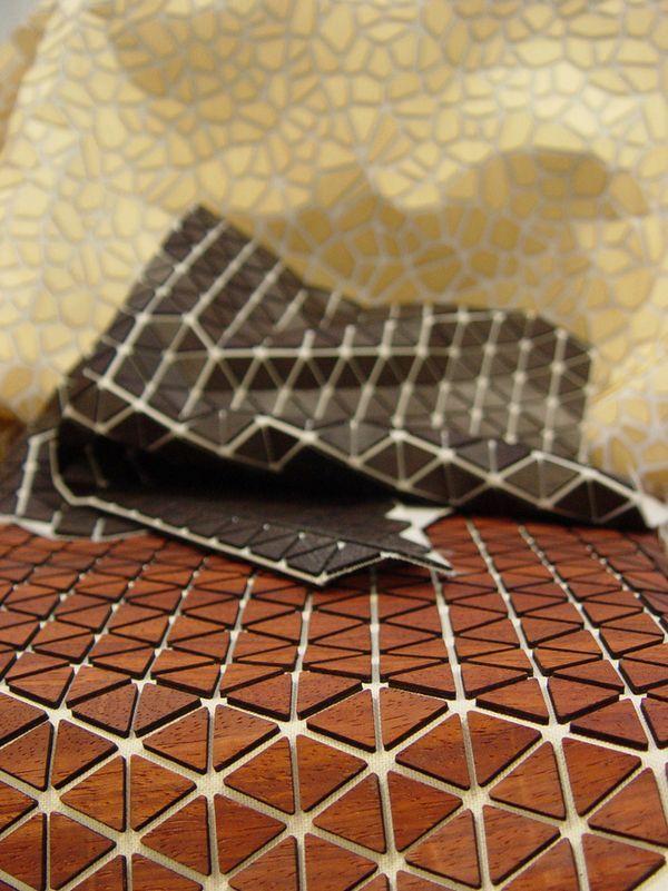 composite wood + cloth