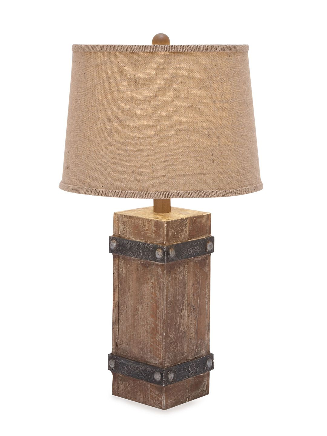 Wooden Table Lamp By Uma At Gilt Rustic Table Lamps Table Lamp Wood Wooden Table Lamps