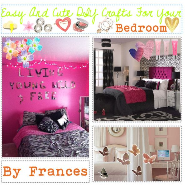 Easy & DiY Crafts For Your Bedroom, created by the-tip-girly on ...