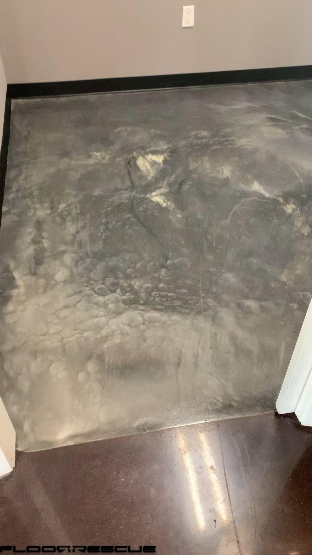 Gray / Pearl Metallic Epoxy Floors