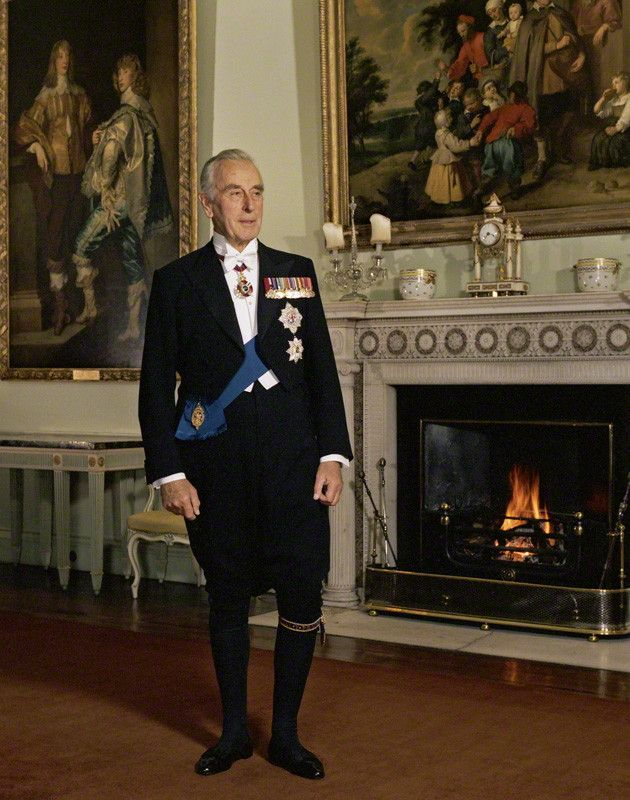 Mountbatten   ... Large Image - NPG P1219; Louis Mountbatten, Earl ...