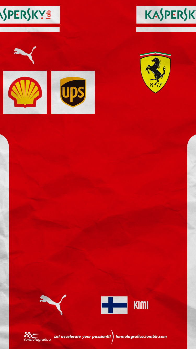 Iphone Wallpaper - 2018 Formula 1 Season - Team Suits - Scuderia Ferrari -… a4f27508ee0