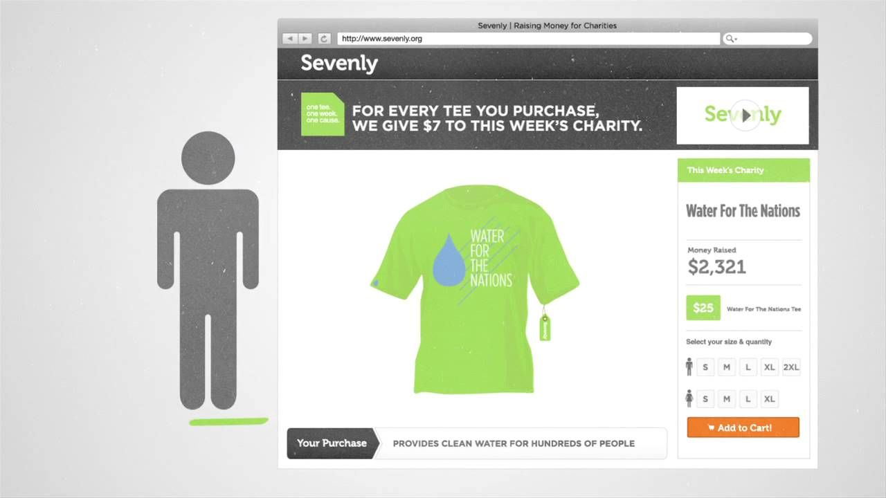 Sevenly pitch for tshirts