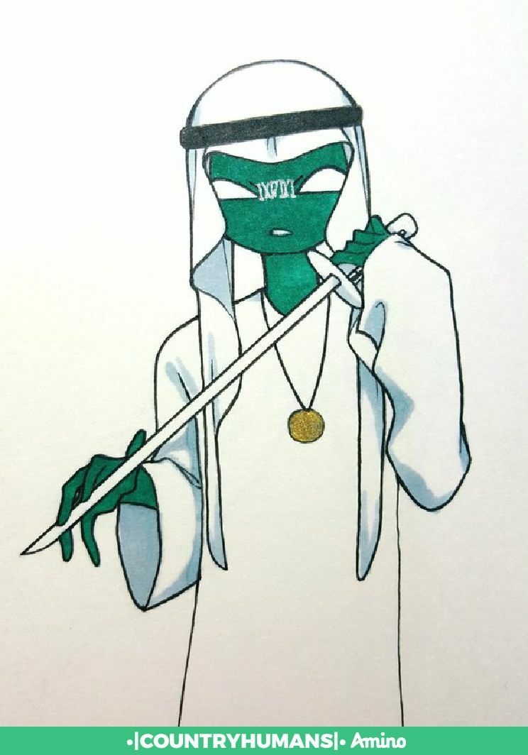 Pin By Russia On Countryhumans East Africa Saudi Arabia Anime