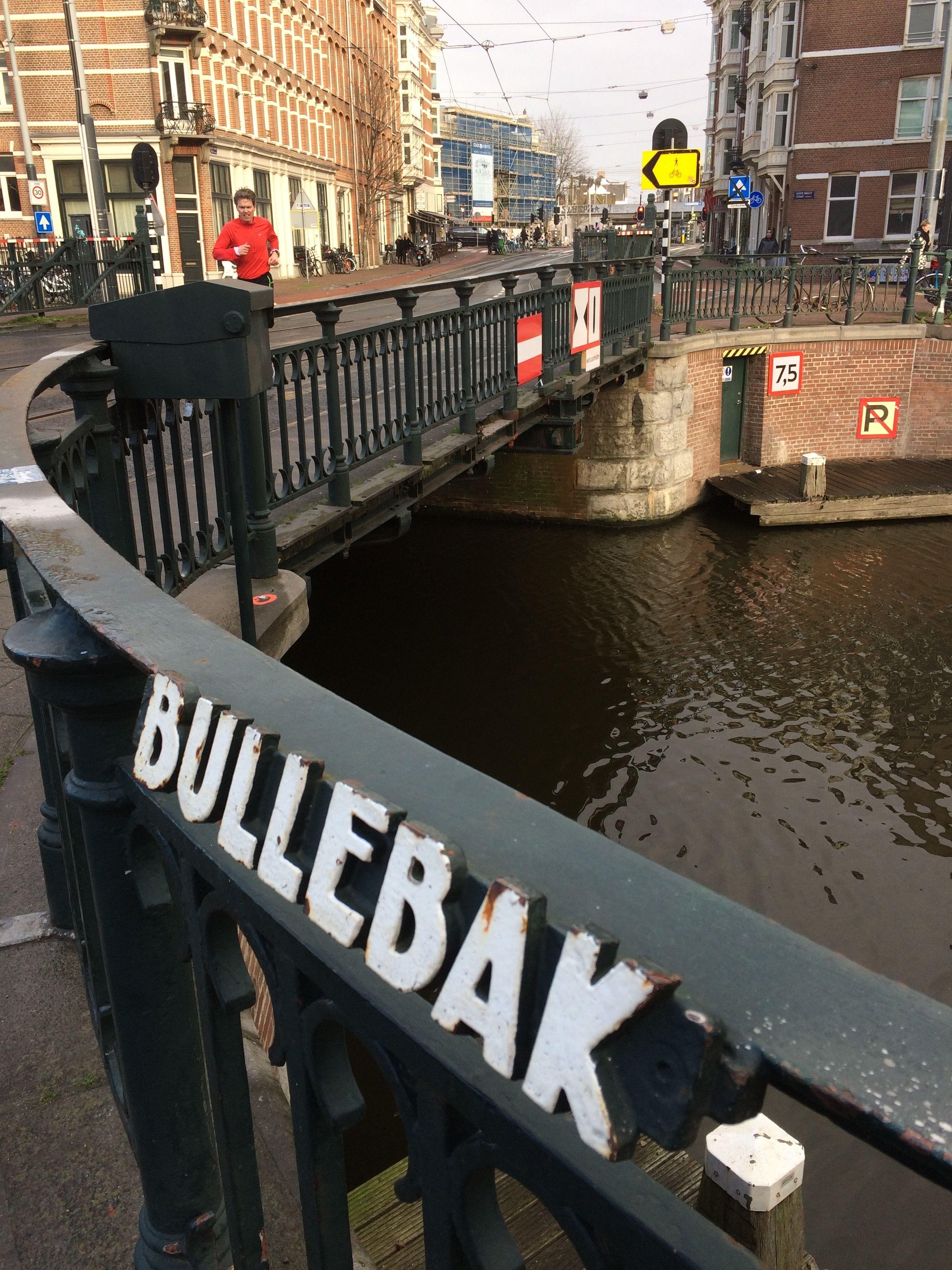 De Bullebak Is Een Brug In De Marnixstraat Amsterdam Brug December