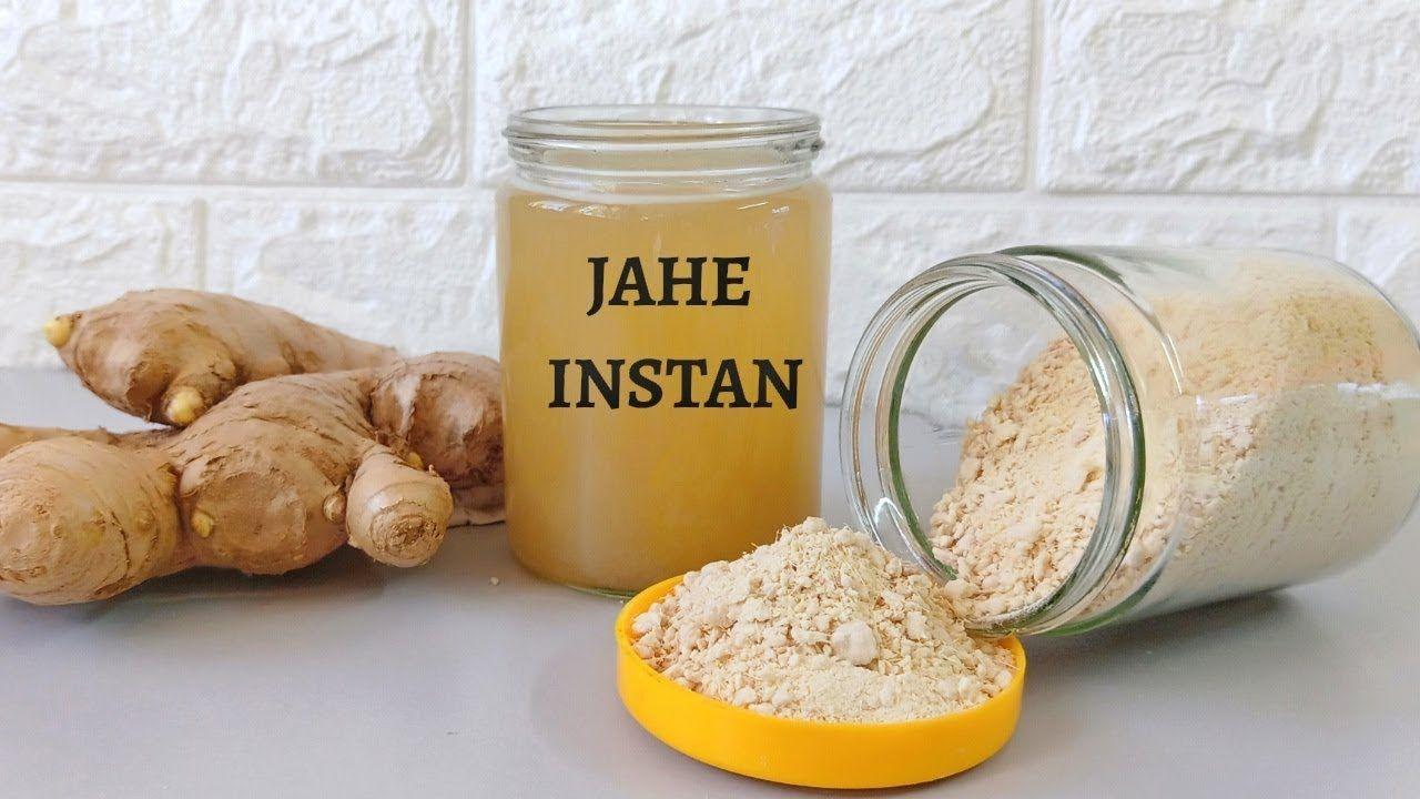 Cara Membuat Jahe Bubuk Instan Resep Dapur Aby Herbalism Food Cheese