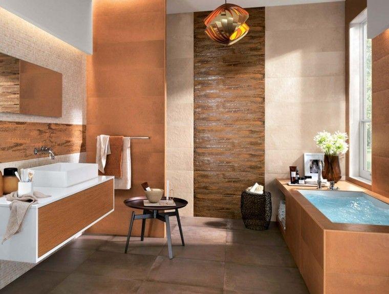 Azulejos para baños modernos - cien ideas geniales   Azulejos para ...