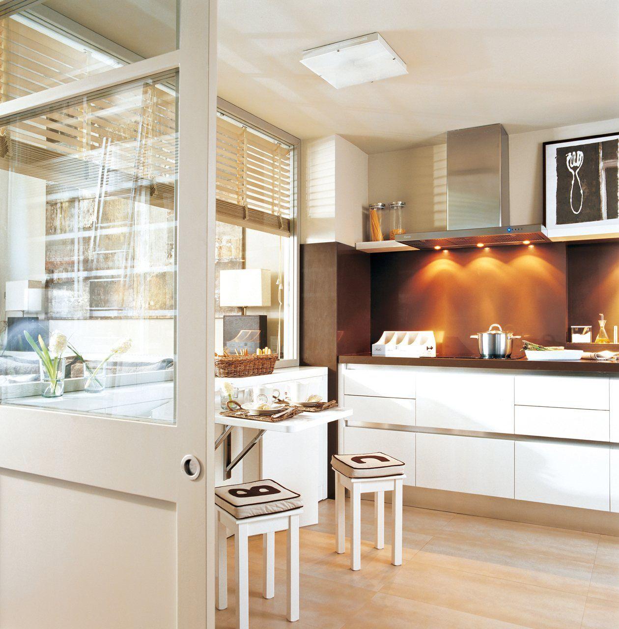 20 cocinas peque as y muy bonitas cocinas cocinas for Cocinas bonitas y practicas