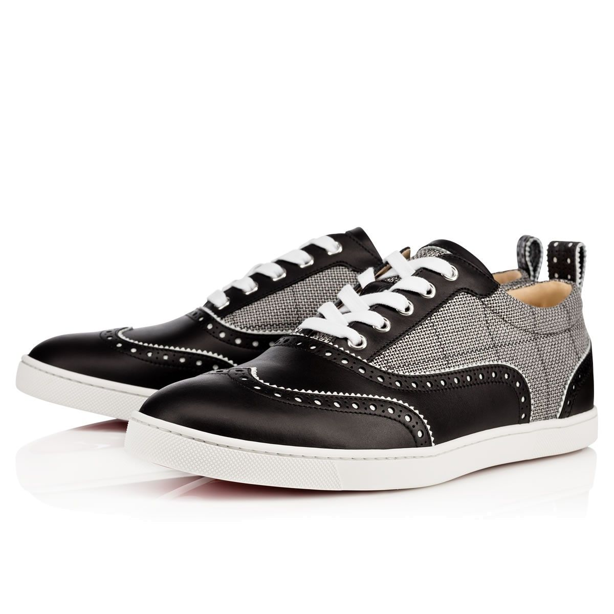 Men Shoes - Riviero Calf/tissu Dorsilk - Christian Louboutin