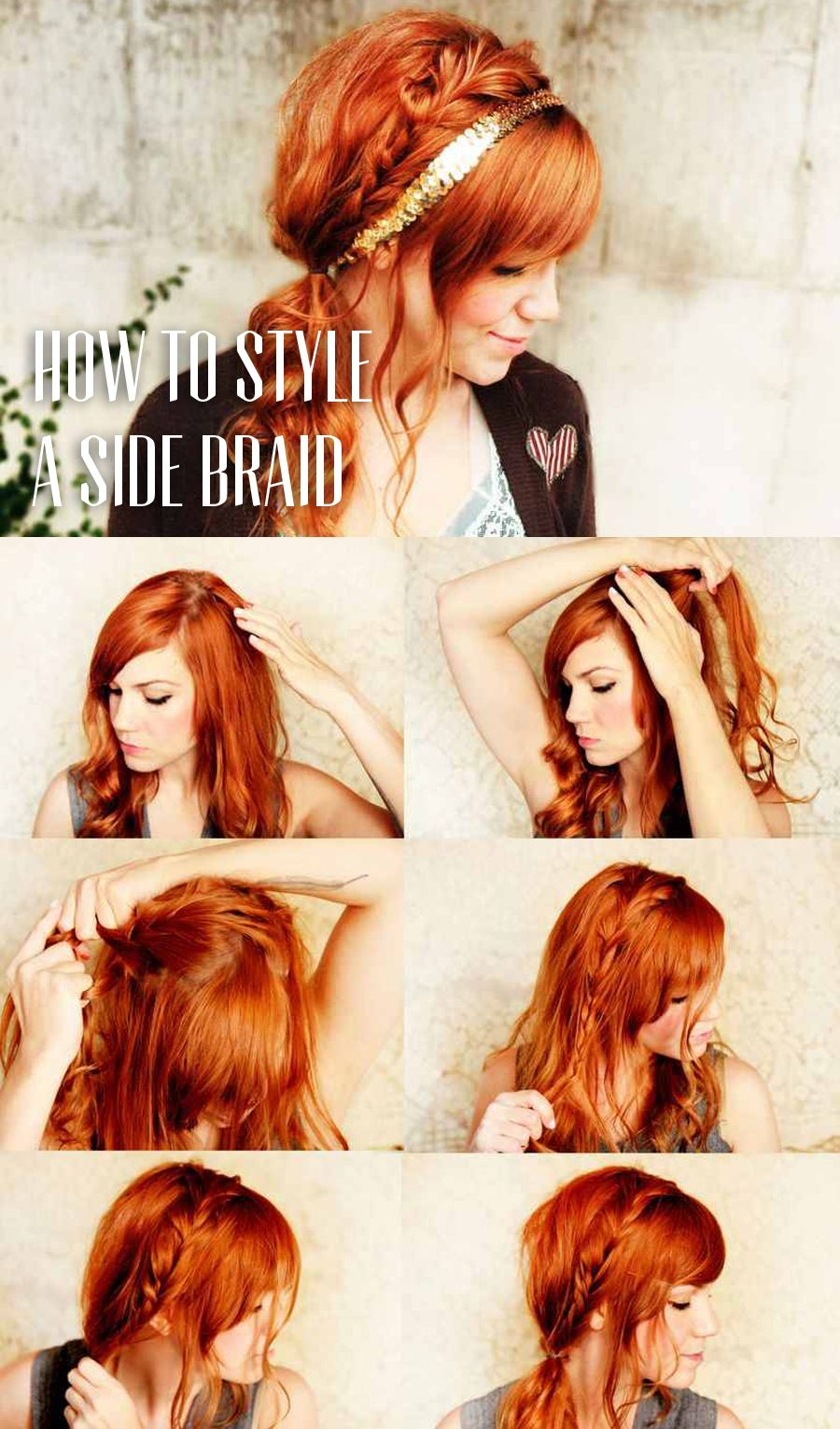 How to style a side braid hair fashion pinterest