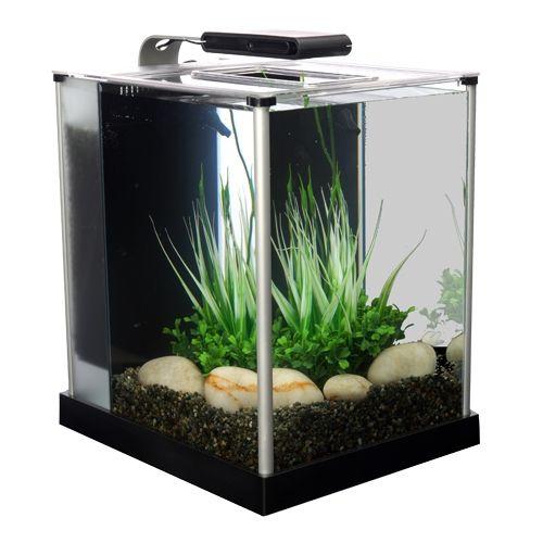 Acuario fluval spec iii acuario de escritorio compacto de - Peceras de diseno ...