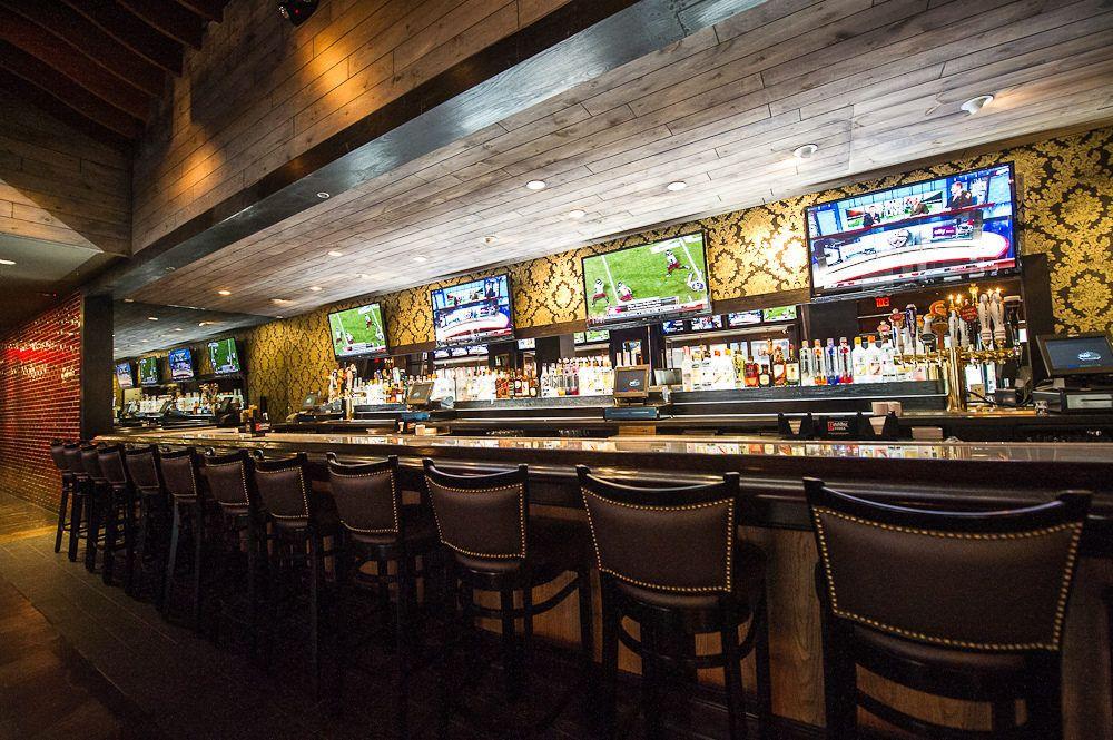 The Sports Bar Goes Glam Sports bar decor, Sports bar