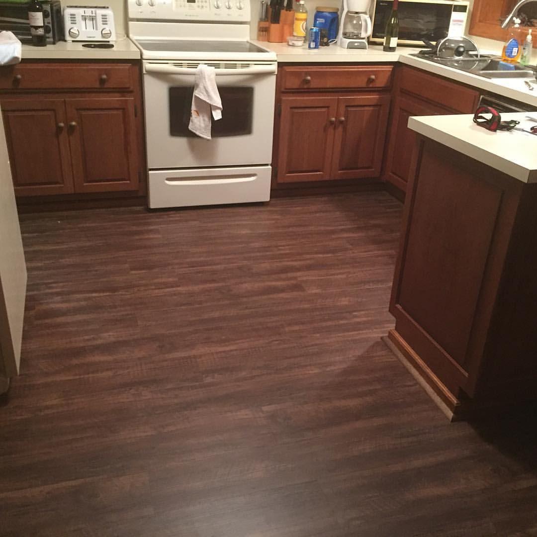 Newly Installed Coretec Plus Flooring Kingswood Oak