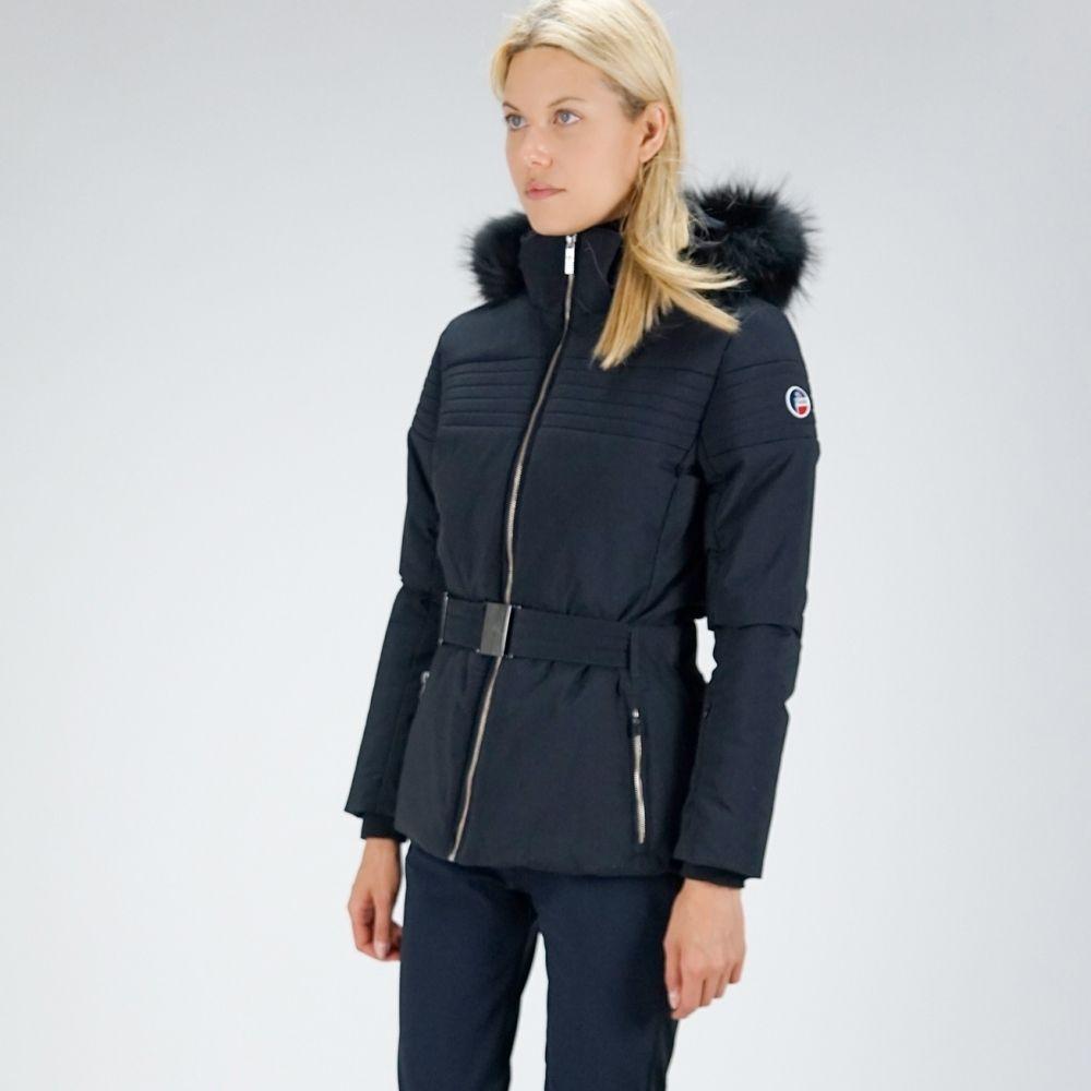 Fusalp Naja Fur Ii Womens Jacket In Navy Fusalp Womens Jacket Jackets For Women Ski Jacket Jackets