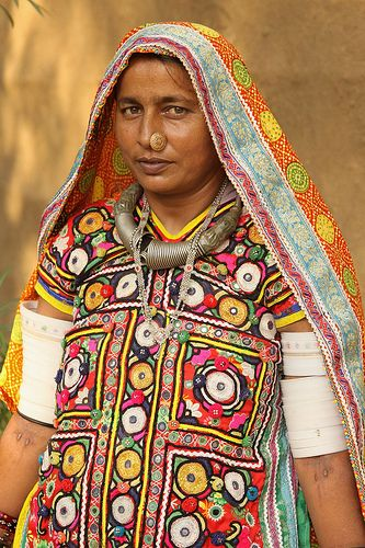 Meghwal Tribal Women #tribal #nosering #gujarat #india