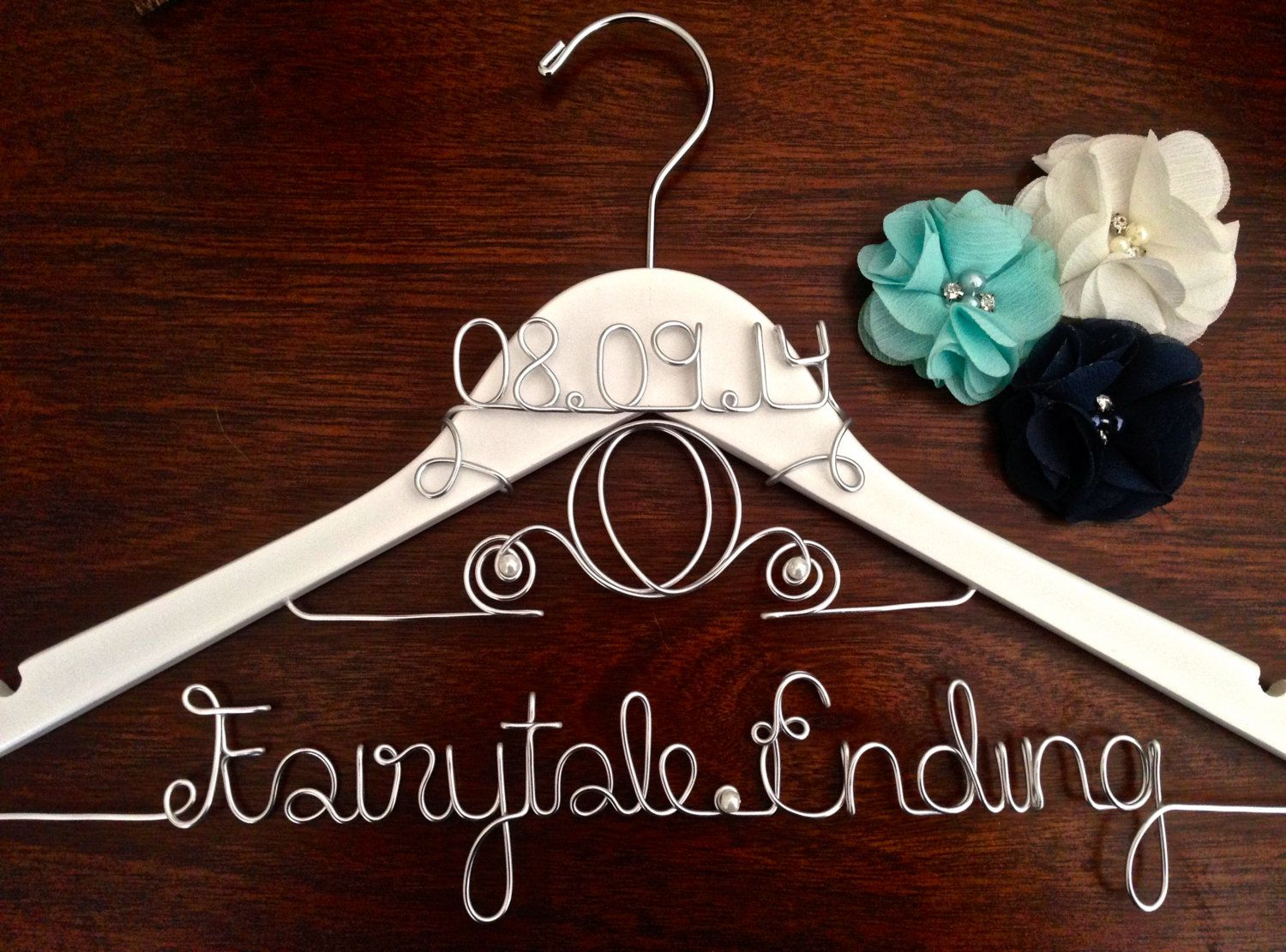 Cinderella Wedding Hanger! For That Magical Touch to Your Fairytale Wedding! by CarolinaTwist on Etsy