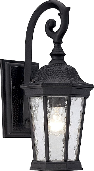 Savoy House Hampden Outdoor Wall Lantern In Black Lighting