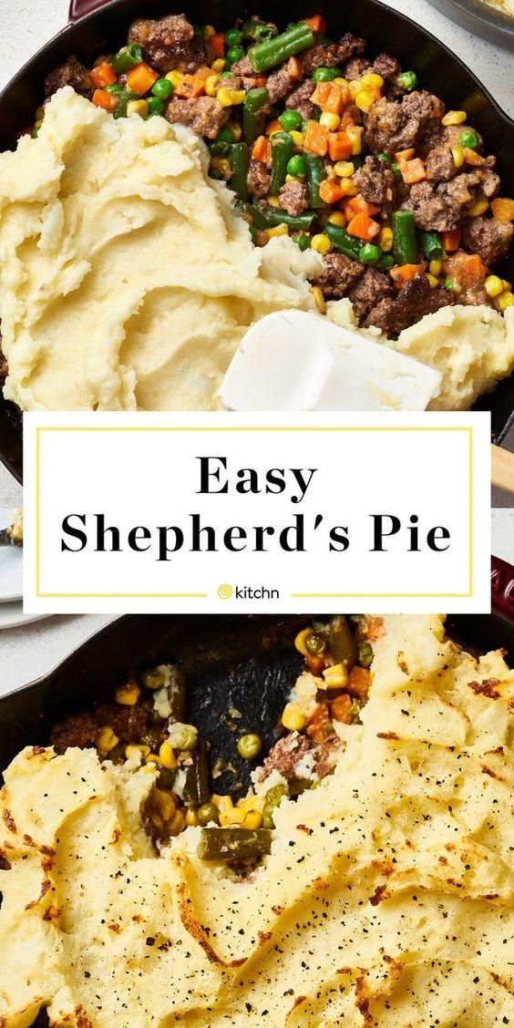 How To Make Easy Shepherd's Pie #sheperdspieeasy