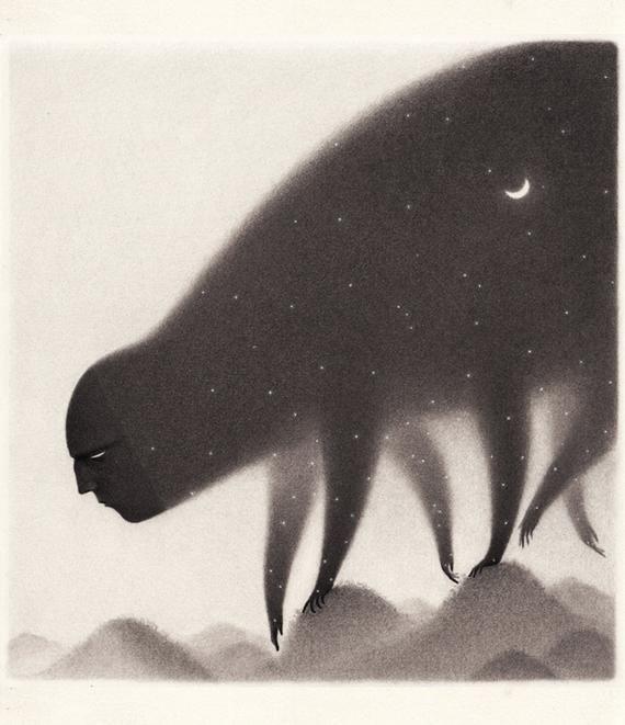 The eternal walk – Giclée Print illustration
