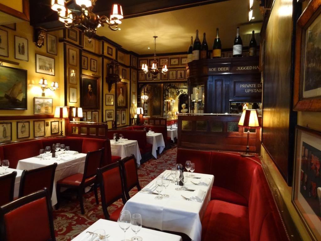 Reserve a table at Rules Restaurant, London on TripAdvisor