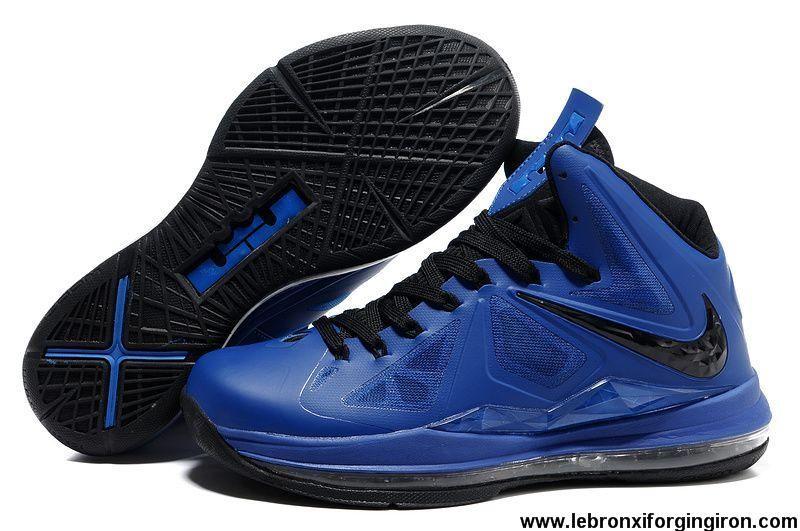 wholesale dealer 8852d 5aef5 Nike Lebron X (10) Royal Blue Black Shoes Store