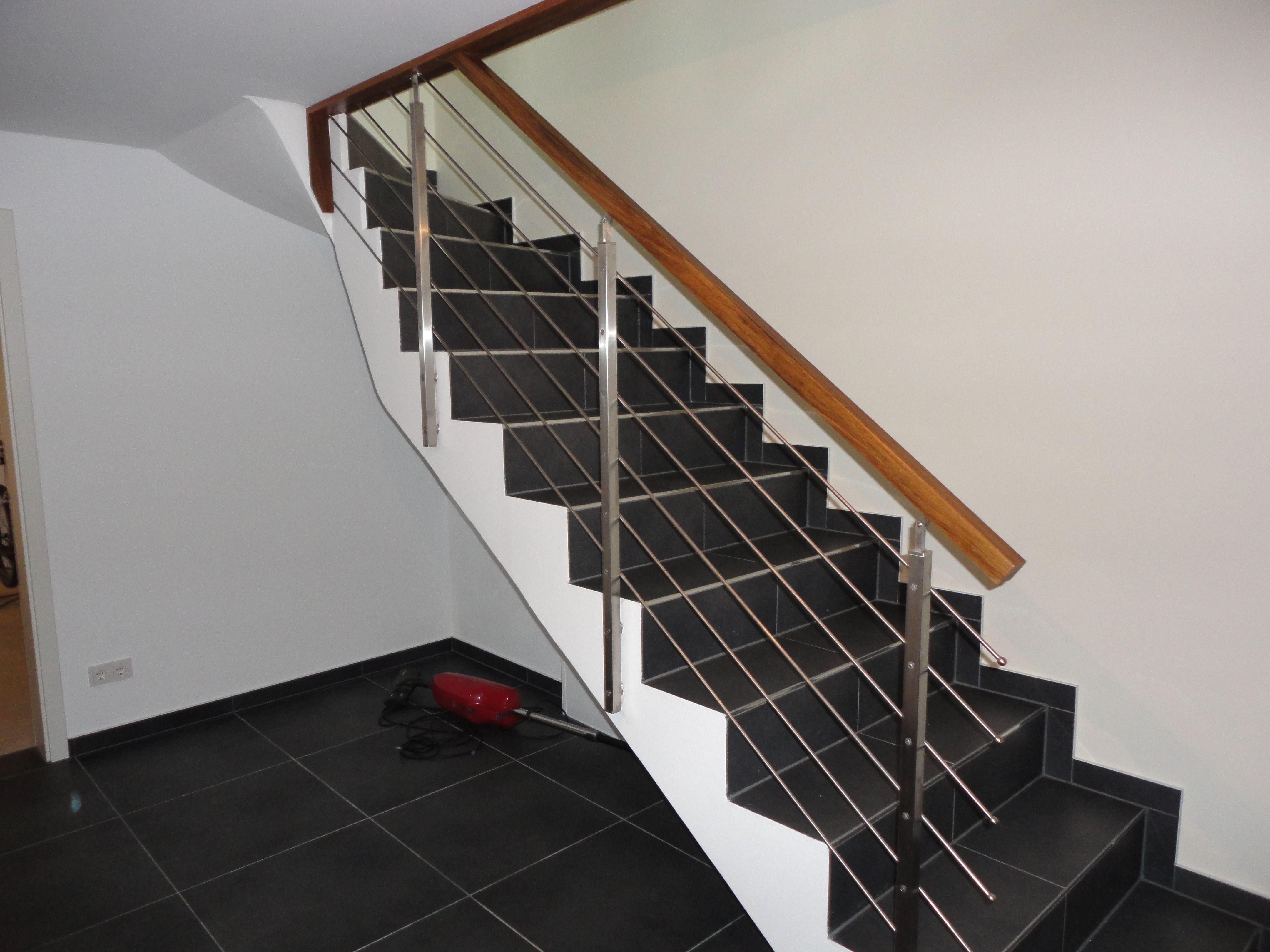 geländer an betontreppe | treppen | pinterest | treppe, betontreppe