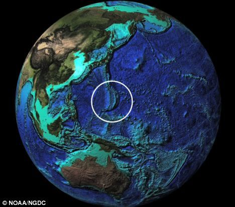 Marianna trench Globe view Deepest Ocean In The World How Deep In - copy world map with ocean trenches