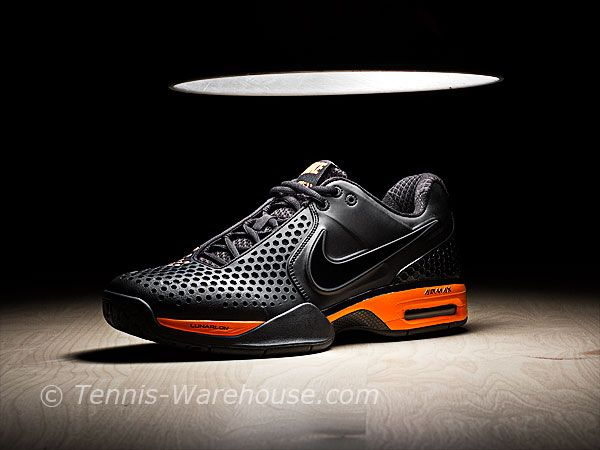 buy popular 047e0 d34dd Nike Court Ballistec 3.3 Black Orange Men s Shoe  99.00