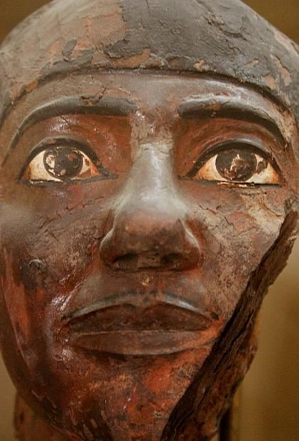 Statue of a man, 5th dynasty (2504-2347 B.C.) Egyptian ...