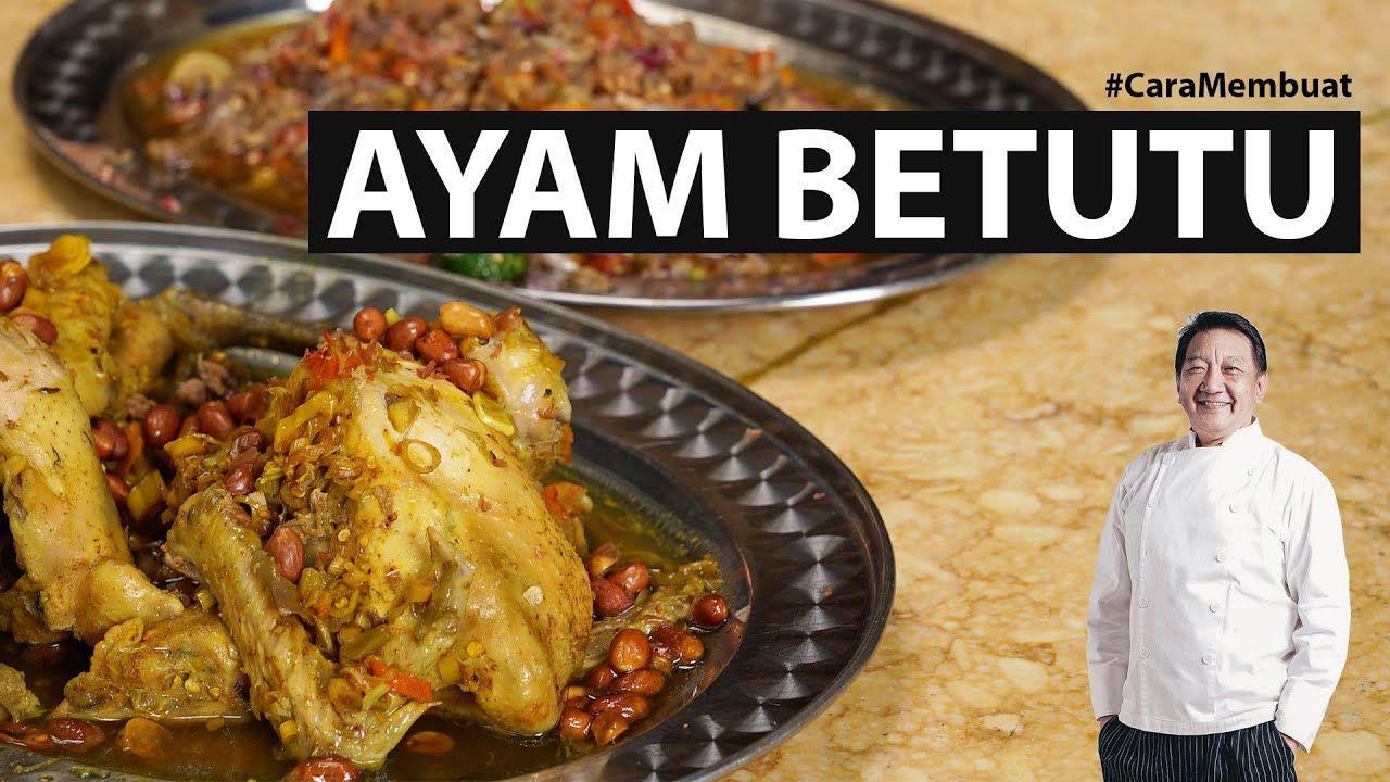 Dengan Sambal Matah Asin Pedas Ayam Betutu Gilimanuk Caramembuat Youtube Makanan Resep Masakan Indonesia Resep