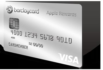 Image of the Barclaycard Visa with Apple Rewards  Rewards credit