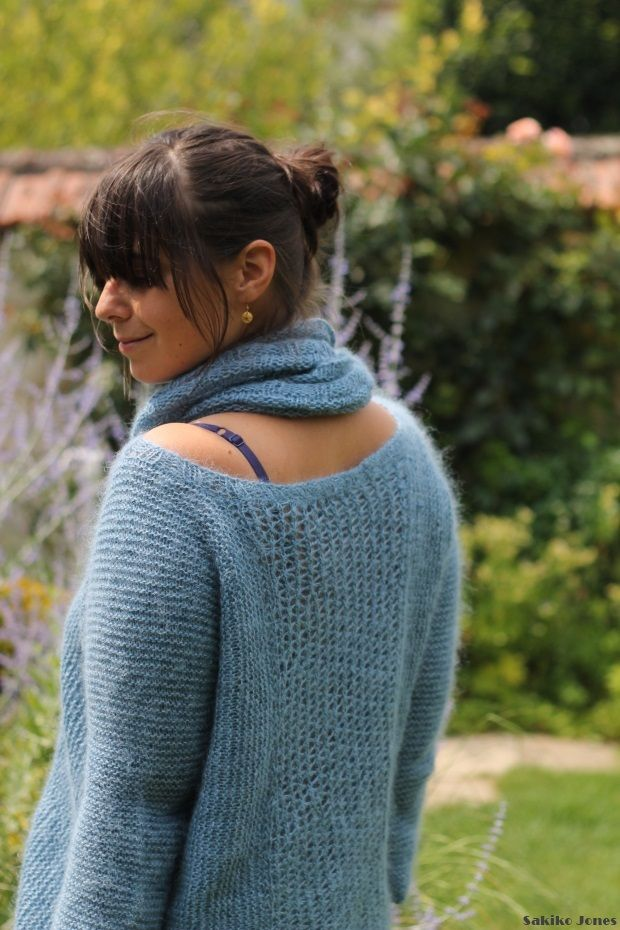 tuto tricot pull col rond