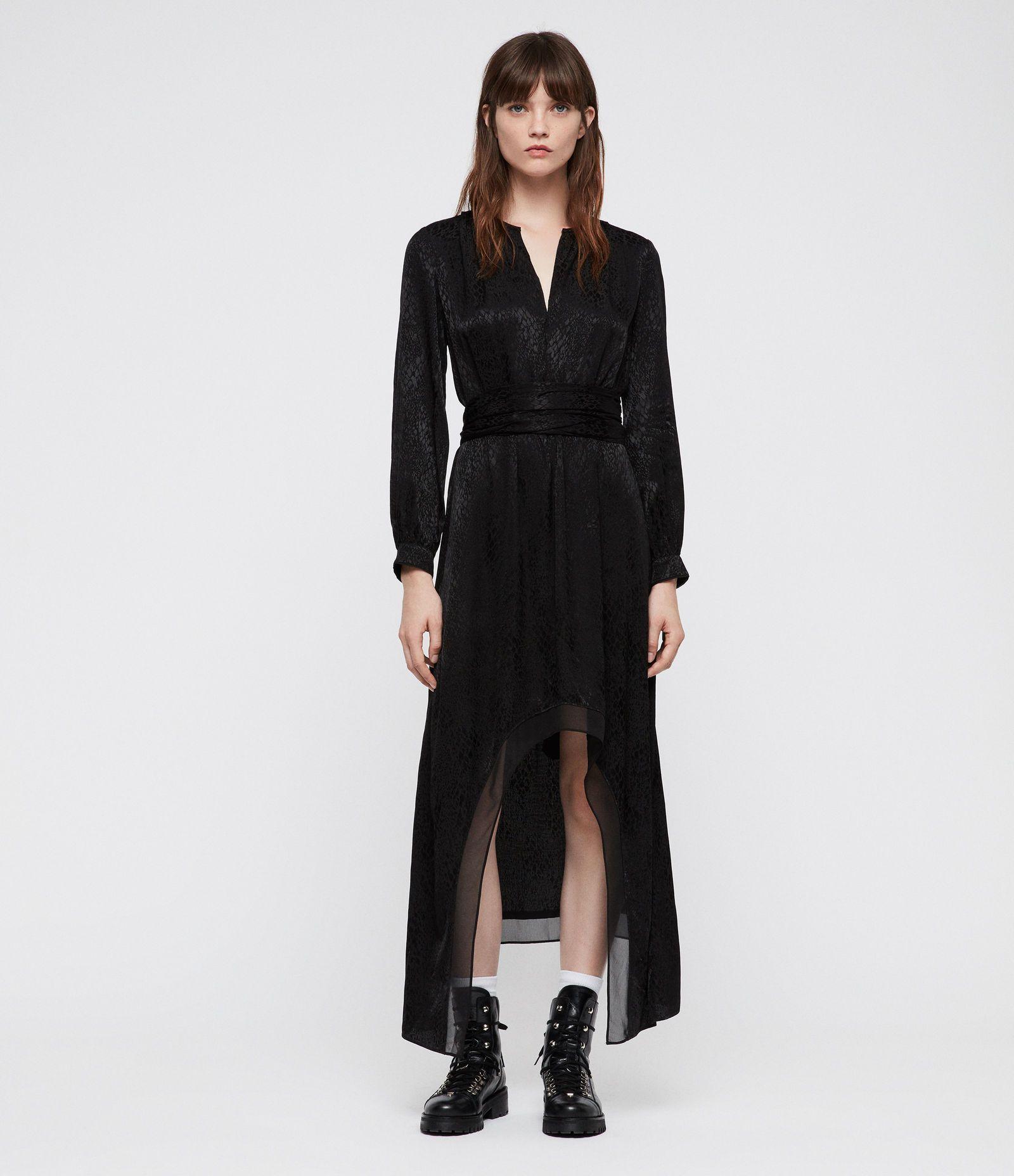 long sleeve lace maxi dress uk