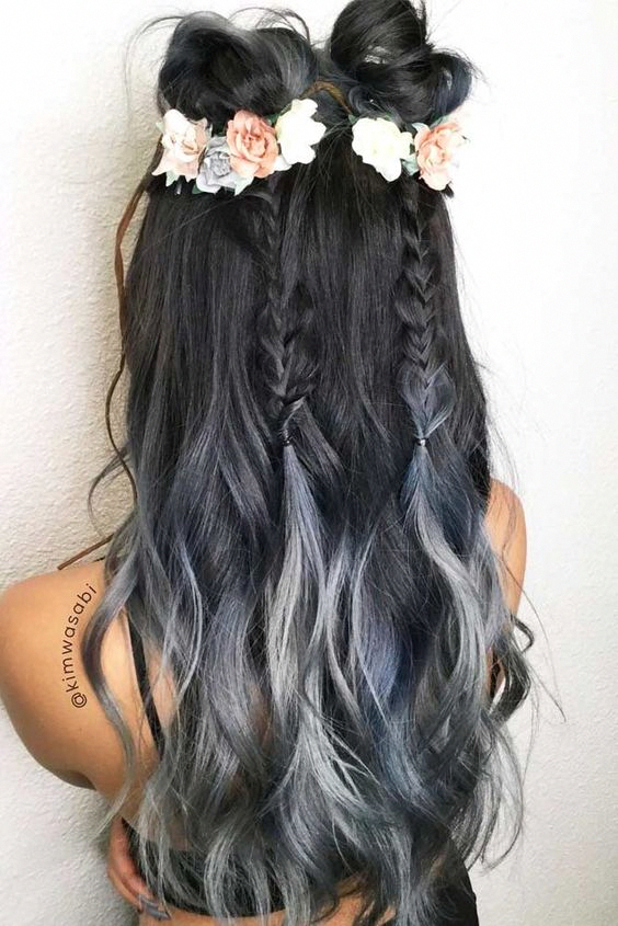 Prom Hairstyles Down For Long Hair 2 Stylish Hair Prom Hairstyles For Long Hair Simple Prom Hair