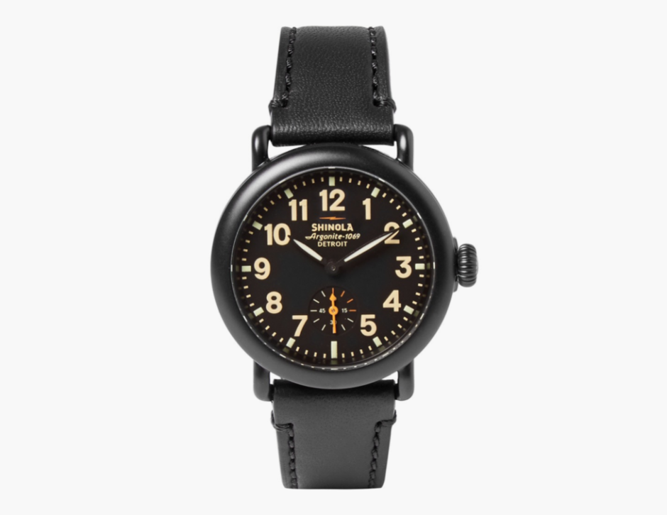 8049d6fd984 This All-Black-Everything PVD-Plated Shinola Watch Has Your Name On ...