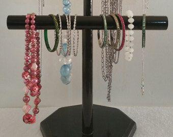 Jewelry Display 2 Tier Necklace Holder Bracelet Hanger