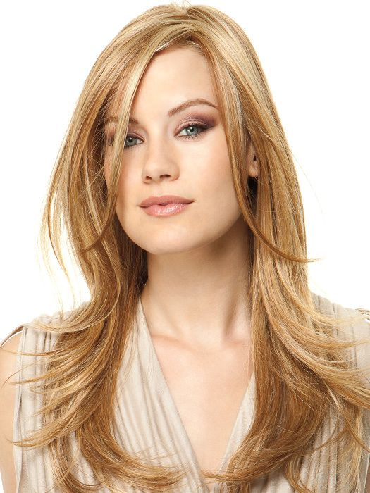 Scene Stealer Hf Synthetic Lace Front Wig Mono Top Dark Golden