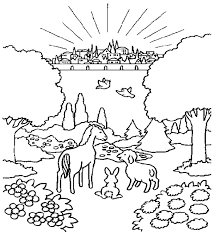 Printable Coloring Pages Of Heaven