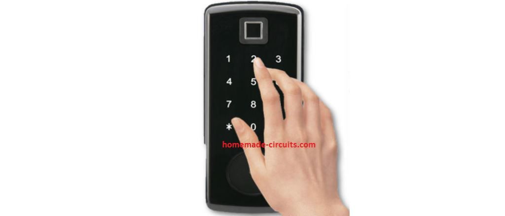 Touch Operated Code Lock Switch Circuit In 2020