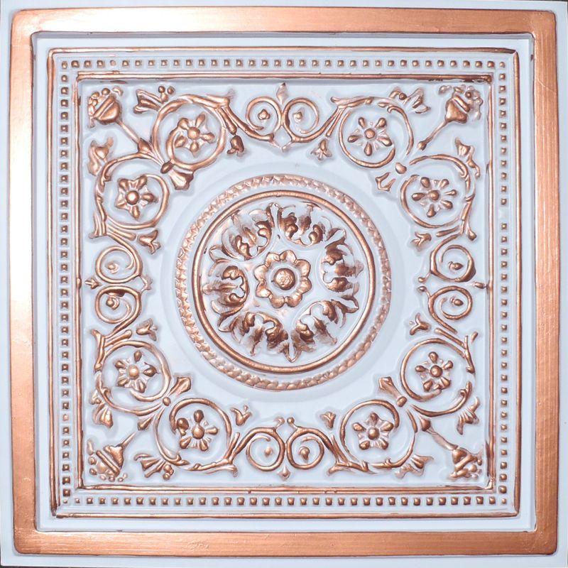Copper White Pvc 20mil Ceiling Tiles