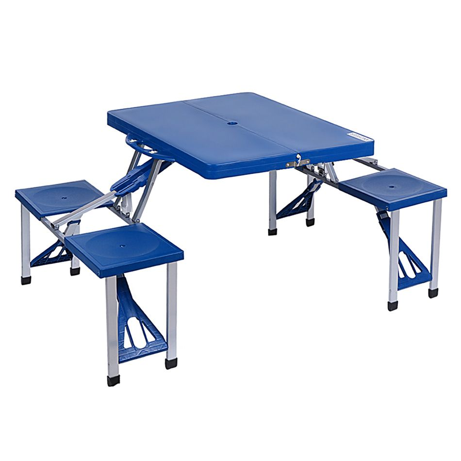 2016 High Quality ABS Folding Table Set Portable Outdoor Camp ...