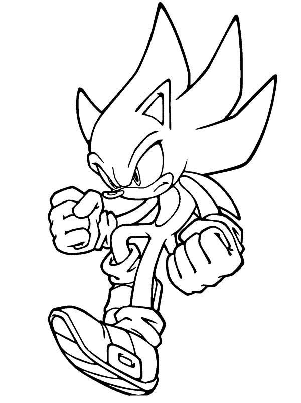 Sonic Jumps Coloring Page Kids Play Color In 2020 Kids Printable Coloring Pages Avengers Coloring Pages Coloring Pages