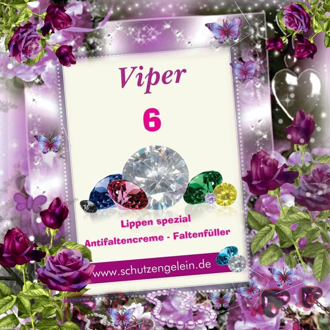 Viper6, Propoliscreme Mund Lippen - Anti falten creme