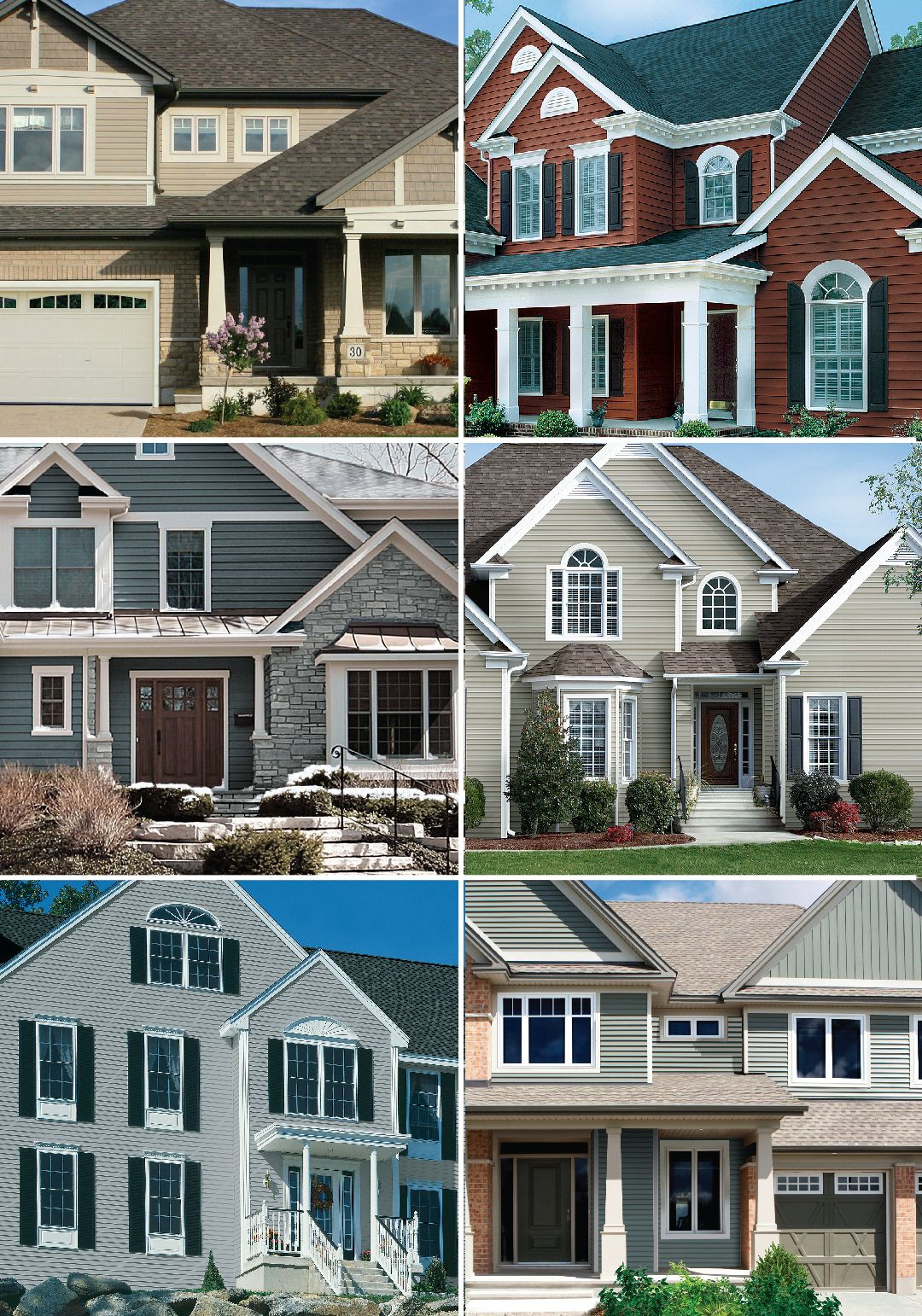 When It Comes To Curb Appeal Nothing Says Wow Like The Colour Of Your Home Gentek Proudly Offers A Aluminum Siding Colors Vinyl Siding Siding Color Choices
