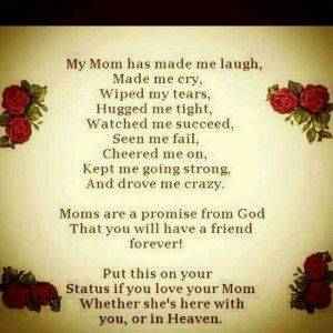 For My Mom In Heaven I Miss You Quotes Pinterest My Mom Mom