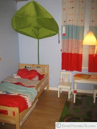 IKEA Small House Plan 621 Square Feet