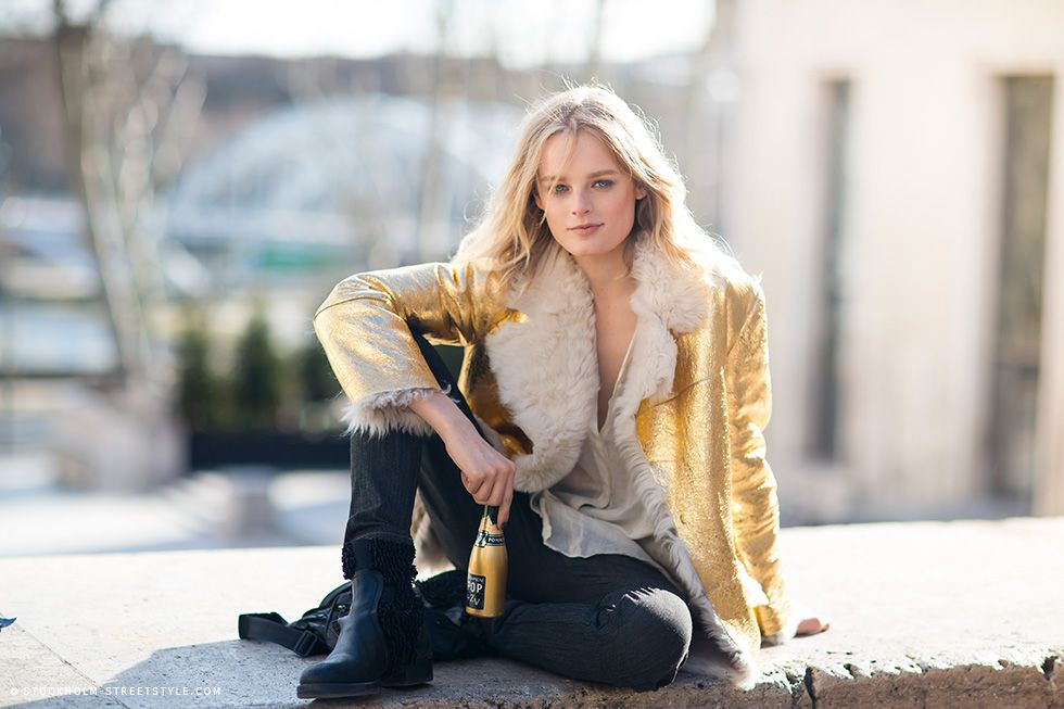 coming up golden. HGO #offduty in Paris. #HanneGabyOdiele
