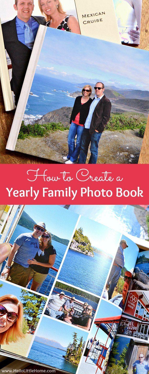 how to make creative photo album at home