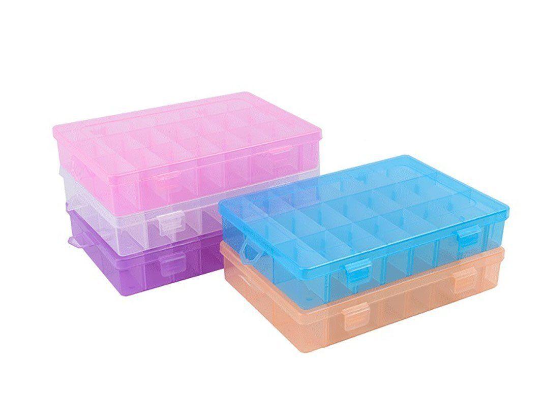 Artist S Large Tool Box Blue Plastic Deep Carry Case Art